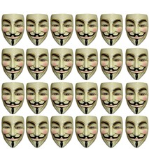 V For Vendetta - Mask - Set of 24 Units Pieces - Adult - Guy Fawkes - An... - $1.866,45 MXN