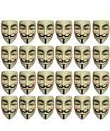 V For Vendetta - Mask - Set of 24 Units Pieces - Adult - Guy Fawkes - An... - $92.72