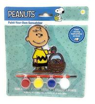 Peanuts Paint Your Own Suncatcher Craft Kit (Charlie Brown Easter Basket) - $11.26