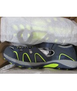 BNIB Merrell Big Kid's H2O Hiker Sandal, boys, size 5M, Navy/Lime - $32.66