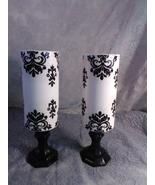 2pc. Black & White Candleholder Set - $45.94
