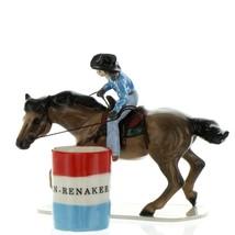 Hagen Renaker Horse Rodeo Barrel Racer Ceramic Figurine image 8