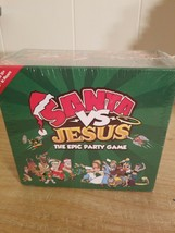 Santa VS Jesus The Epic Party Game 4-16 Players Komo Games New Sealed*A9* - $28.04