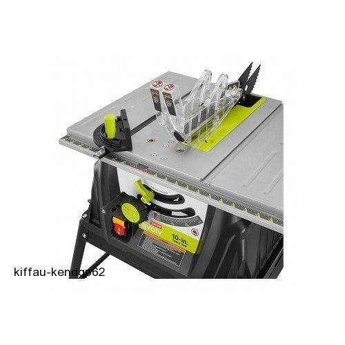 Craftsman Evolv Table Saw 15 Amp 10 in. Accessories Blades Power Tool Garage