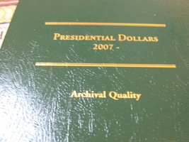 Presidential Dollars , 24 Presidential Dollars , Started in 2007 , Folder Includ - $59.00