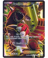 Groudon EX 150/160 Holo Full Art Rare Primal Clash Pokemon Card  - $10.99