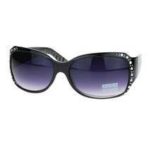 Rhinestones Sunglasses Womens Oval Rectangular Fashion Shades - $9.85+