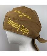 66th Anniversary Daytona Bikeweek 2007 Skull Cap Screaming Eagles  Head ... - $39.59