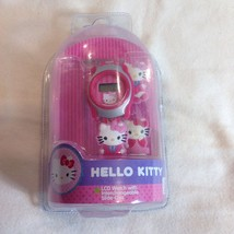Hello Kitty LCD Watch with Interchangable Slide-Ons Sanrio - $19.31