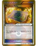 Weakness Policy 164/160 Holo Primal Clash Pokemon Card - $10.99