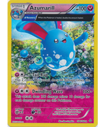 Azumarill 104/160 Holo Rare Primal Clash Pokemon Card - $1.49