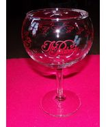 Vintage THE PEABODY DUCKS Wine Glass  - $34.95