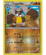 Diggersby 90/160 Reverse Holo Rare Primal Clash Pokemon Card - $1.29