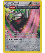 Excadrill 97/160 Holo Rare Primal Clash Pokemon Card - $1.59