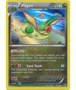 Flygon 110/160 Holo Rare Primal Clash Pokemon Card - $1.79
