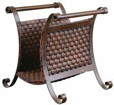 Uttermost Brunella Hand Forge Metal Magazine Rack - $227.69