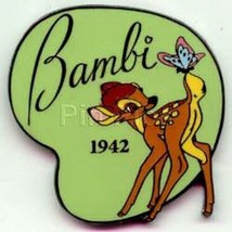Bambi and butterfly dated 1942 Authentic Disney pin - $19.99