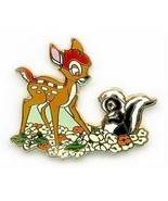 Bambi and Flower Authentic WDCC Disney pin/pins - $25.15