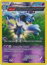 Nidoqueen 69/160 Reverse Holo Rare Primal Clash Pokemon Card image 3