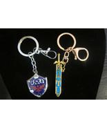 Legend of Zelda Link's sword and sheild Key chain combo - $16.99
