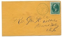 1873 Frenchtown, NJ Vintage Post Office Postal Cover - $7.99