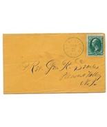 1873 Frenchtown, NJ Vintage Post Office Postal Cover - €6,98 EUR