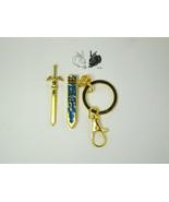 Legend of Zelda *Fast USA shipping!* Link master sword keychain with rem... - $12.99