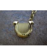 Legend of Zelda Link Goddess's Golden Harp Keychain or necklace from Sky... - $8.99