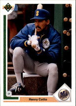 1991 Upper Deck Henty Cotto #110 Seattle Mariners (MT) Baseball Card - $0.10