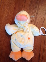Just One Year Carters Yellow Orange Duck Musica... - $18.69