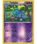 Nidorina 67/160 Reverse Holo Uncommon Primal Clash Pokemon Card - $1.09