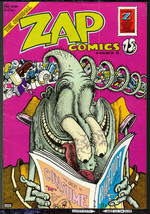ZAP #6, Print Mint,2nd?print,1973, classic Underground Comix, Robert Cru... - $18.86