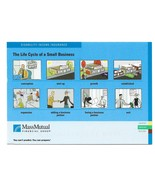 Insurance Advertising Postcard Mass Mutual Life cycle of a Small Busines... - $4.99