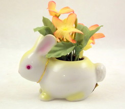 Napcoware miniature bunny rabbit planter toothp... - $10.00