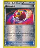 Repeat Ball 136/160 Uncommon Reverse Holo Trainer Primal Clash Pokemon Card - $1.09