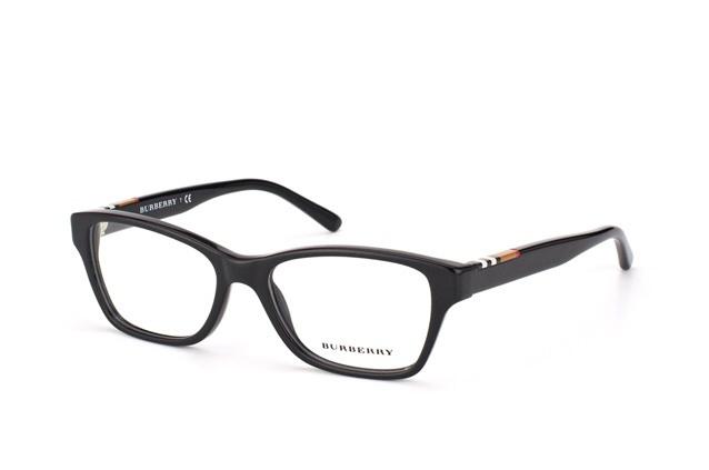 Burberry BE2144 3001 Black Eyeglass Frame 53mm - Eyeglass ...
