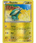 Electrike 59/160 Reverse Holo Common Primal Clash Pokemon Card - $1.09