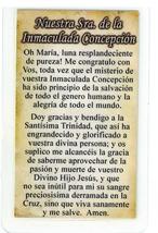 Corded Necklace with Medal, Nuestra Sra. de la Immaculada Concepcion - L161.0126 image 2