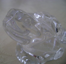 Frog, Gorham German Lead Crystal Salt Shaker/Paperweight - $10.00