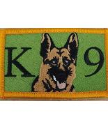 K9 German Shepherd Dog K-9 Iron-On Sew Patch Morale Tactical Version #2 - $10.86