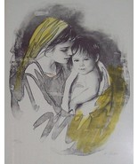 "Signed & Numbered M. Maurice Untitled ""Mother &... - $650.00"