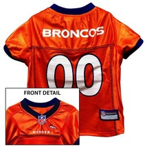 Denver Broncos Dog Jersey XS * Orange Home Game Colors NFL Football Pet ... - €22,74 EUR