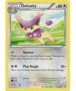 Delcatty 114/160 Rare Primal Clash Pokemon Card - $0.79