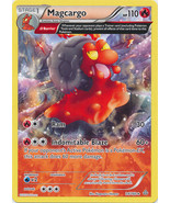 Magcargo 24/160 Rare Primal Clash Pokemon Card - $0.79