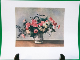 "Fine Art Prints - ""Flowers In A Vase"" By Andre Derain - 9 X 12 - $1.95"