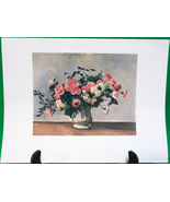 "Fine Art Prints - ""Flowers In A Vase"" By Andre Derain - 9 X 12 - $1.95"