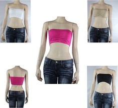 Sexy Strapless Tube BANDEAU Sports BRA  Padded Bra Casual Layering TOP O... - $4.99