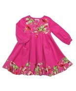 Posh Baby Nay Candy Rose Toddler Girl Hot Pink Cord Bridgett Dress, 3T - £30.01 GBP