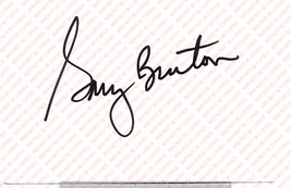 GARY BURTON (JAZZ) VINTAGE GENUINE AUTOGRAPH ON WHITE PAPER - $12.74