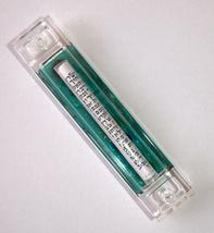 Murano Glass Handmade Mezuzah Case w 6.5 cm Scroll Green Murrina Judaica image 4